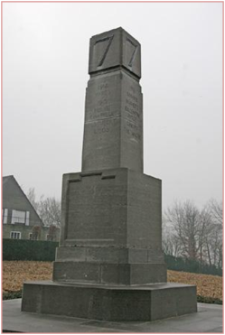 memorial 7th British Div te Zonnebeke
